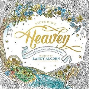 Picturing Heaven: 40 Hope-Filled Devotions with Coloring Pages|Book Review