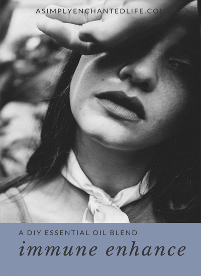 DIY Essential Oil Roll-on:Immune Enhance |Aromatherapy