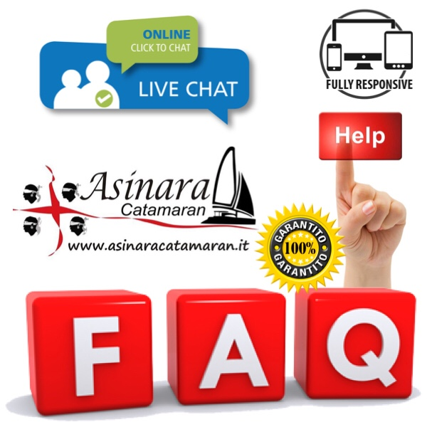 banner FAQS di Asinara Catamaran