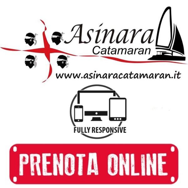 banner Prenota Ora di Asinara Catamaran