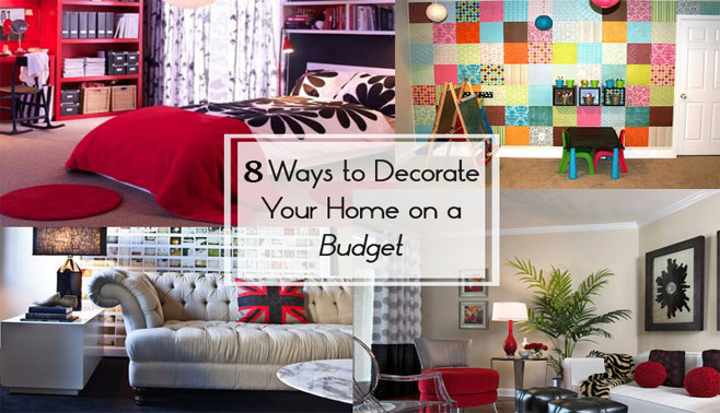 8 Tips On How To Decorate Your Home On A Budget A Single Drop