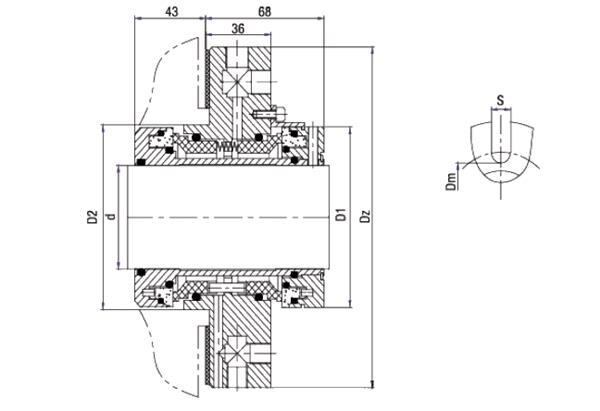 Depac Cartridge Seals for Pump Use, Dual Cartridge