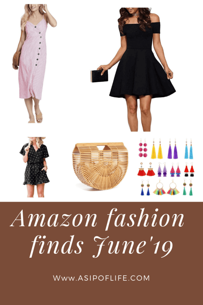 Amazon Fashion finds June'19