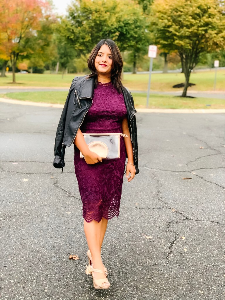 The only lace dress you need for any special occasion for Fall