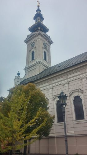 St. George Katedrali Novi Sad Vizesiz Sırbistan