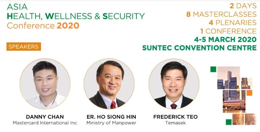 [POSTPONED] Asia Health, Wellness & Security Conference 2020