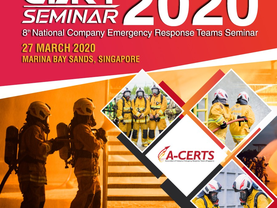 [POSTPONED] Invitation to A-CERTS 8th Edition (CERT) Seminar 2020