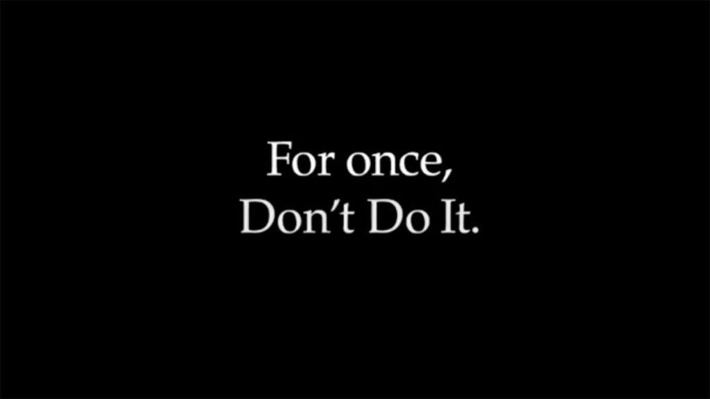 Don't do it:Το μήνυμα της Nike κατά της ρατσιστικής βίας στις ΗΠΑ