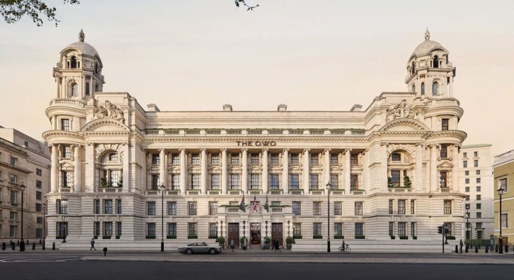 To Old War Office του Λονδίνου μετατρέπεται σε πολυτελείς κατοικίες και ξενοδοχείο.