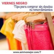 Viernes Negro: Tips para comprar sin deudas ni remordimientos