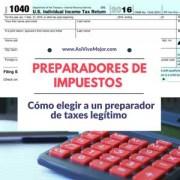 Preparadores de Impuestos | Cómo elegir a un preparador de taxes legítimo