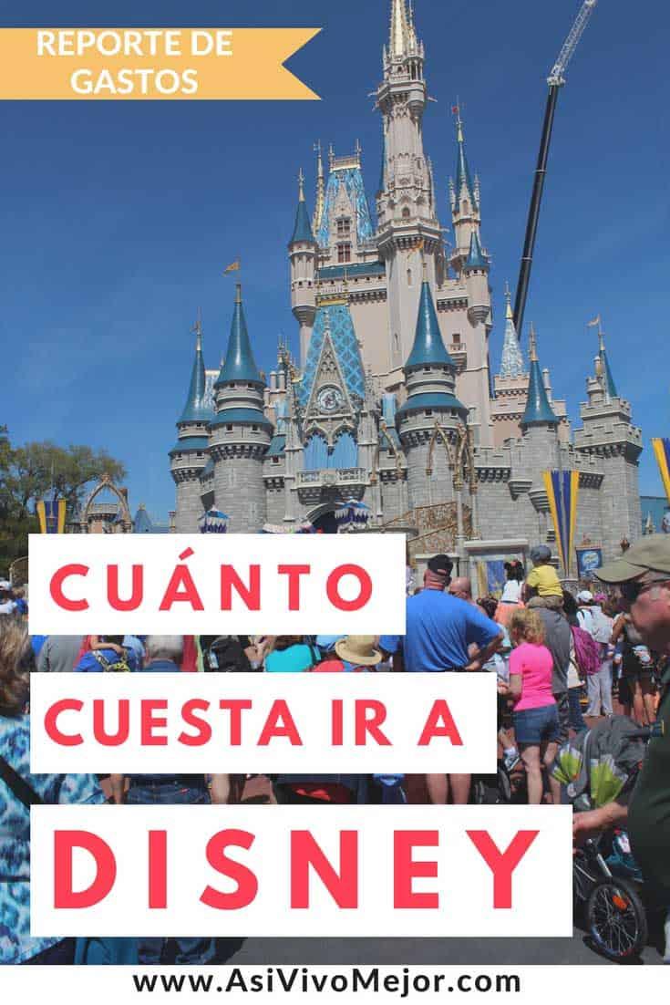 Si tienes planes de hacer un viaje con toda la familia para visitar a Mickey Mouse pero no tienes idea de cuánto cuesta ir a Disney World, en este artículo comparto el reporte de gastos de mi viaje a Orlando. Incluye gastos de cuatro personas durante 9 días y visitas a 5 parques. #disney #dinero #asivivomejor #viajar #vacaciones #presupuesto #gastos #espanol