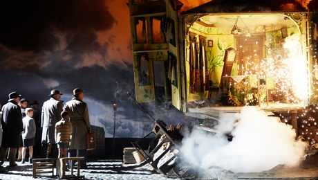 An Inspector Calls New Theatre Cardiff  Art Scene in Wales