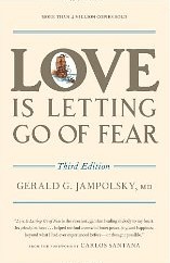 Third Edition of Love is Letting Go of Fear Bookcover