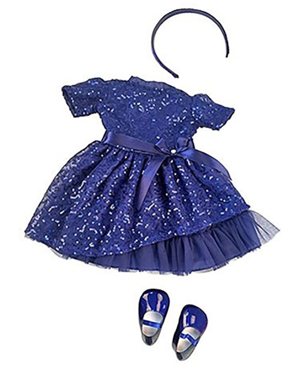 Amy Blue Sparkle Dress