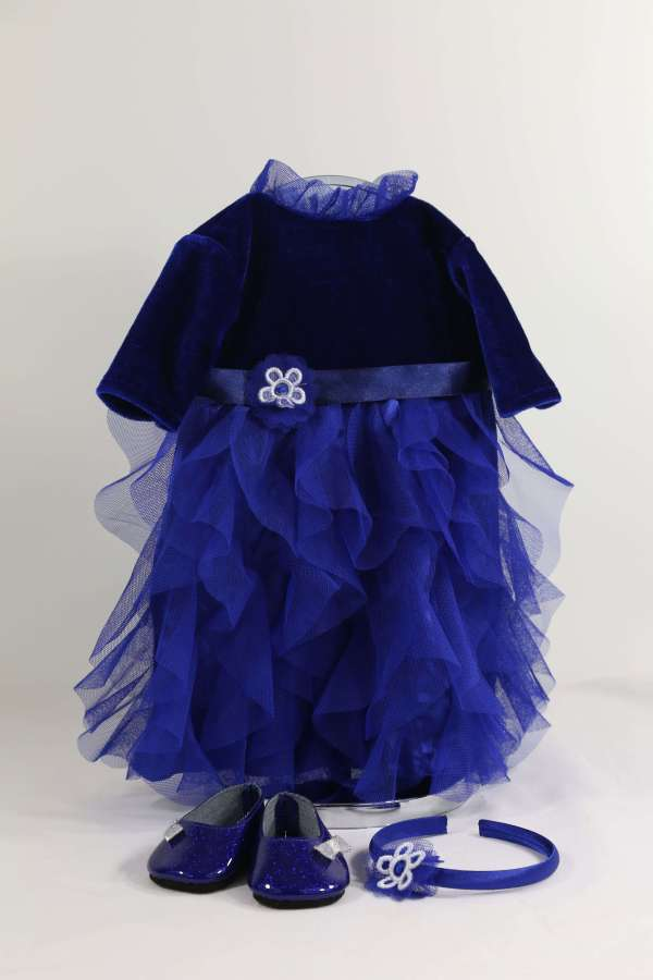 Amy's Blue Party Dress
