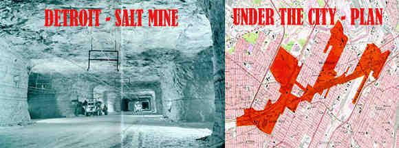 under the city saline