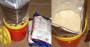 Rice prepper food