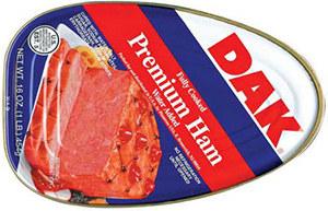 ham prepper food