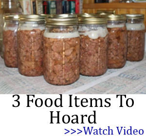 3 food items canned hoard
