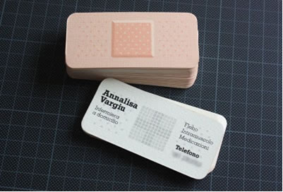 Clever business card design ask ashe colourmoves