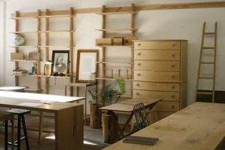 James Mudge Ash hanging Shelves