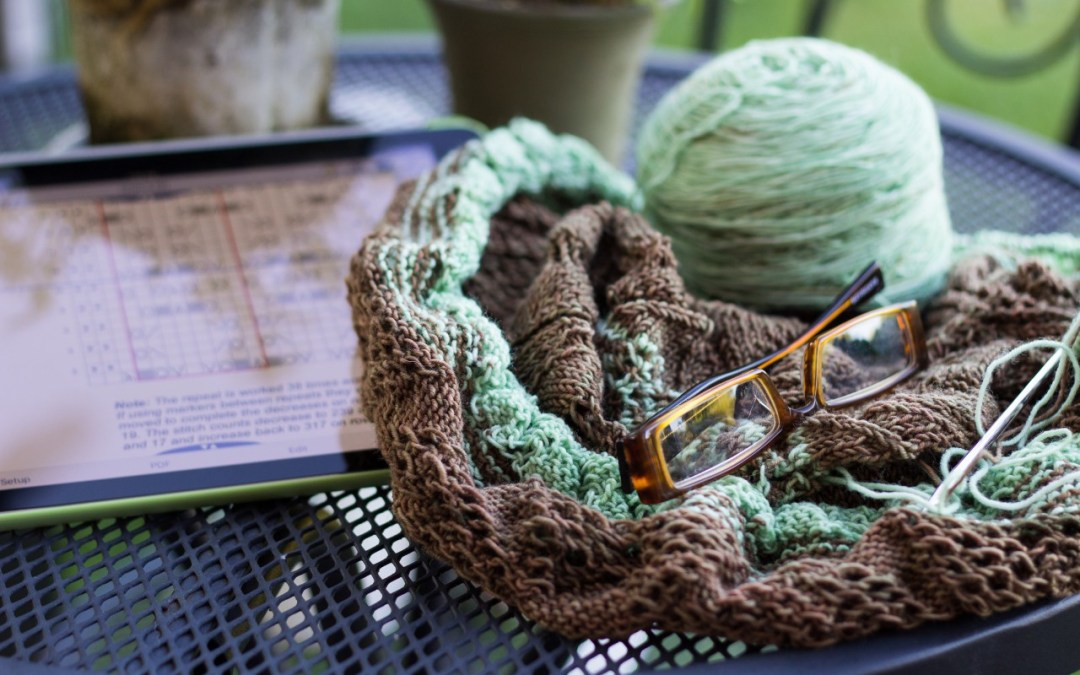 Creatively Reading and Knitting
