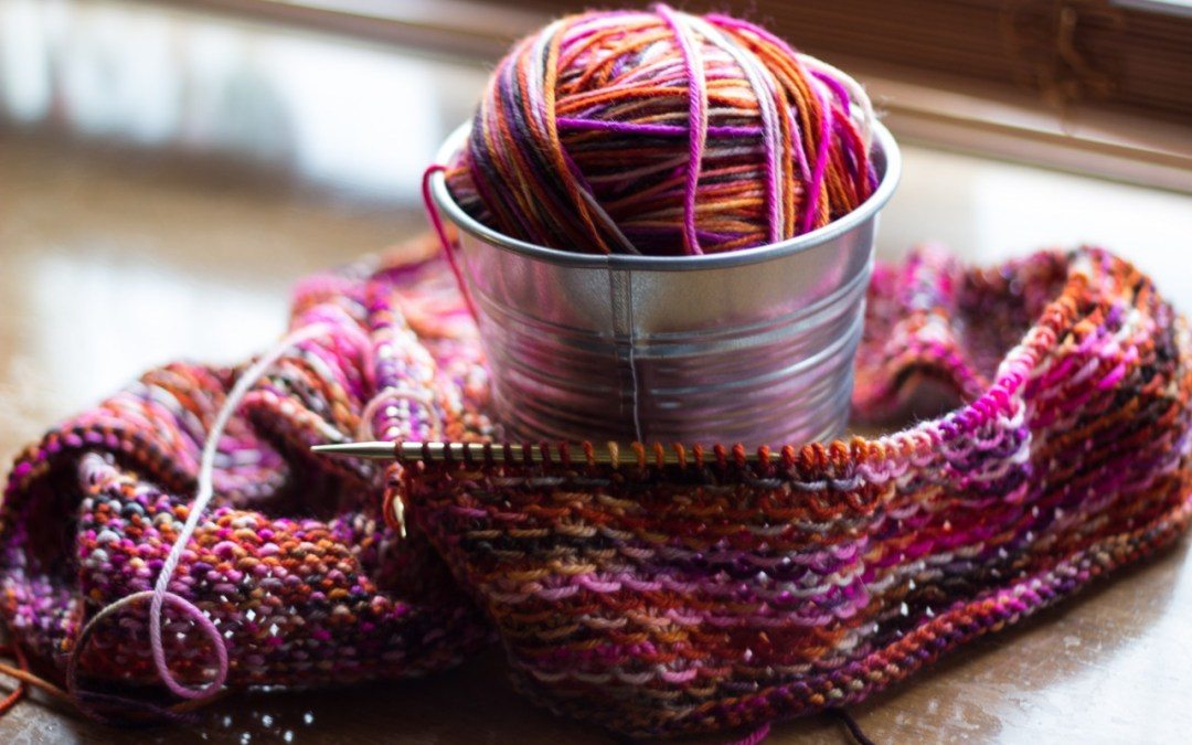 Escapism Knitting and Reading