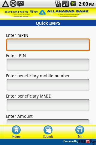 Allahabad Bank IMPS