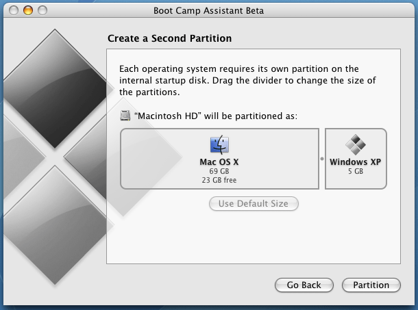 Create Second Partition