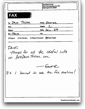Business Fax Cover Sheet 10 Word Doents