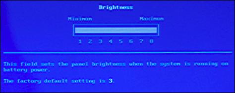 dell bios video brightness battery 8