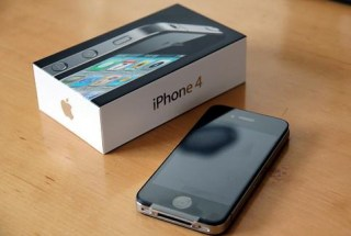 iphone 4 with box