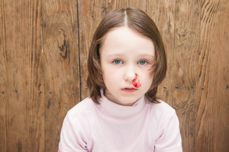 Image result for child nose infection