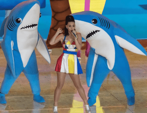It would be difficult to synchronize our dance moves if we were nonselectively perceiving everything about the audience while deciding what to do next. Left Shark, clearly, missed the memo and needs to read this mental model... although in his defense, I couldn't dance better than him if I tried! Image attribution: Wikimedia Commons, CC-By-SA-2.0