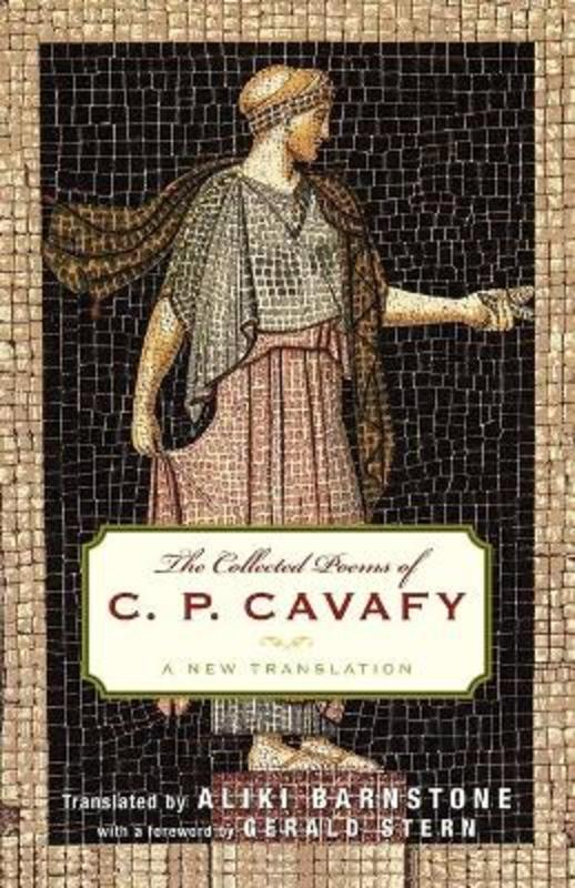 Jacket Image for The collected poems of C.P. Cavafy:a new translation