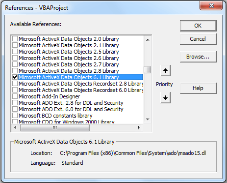 Export Access data to Excel_ADODB