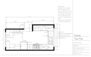 Mary's Kitchen Layout