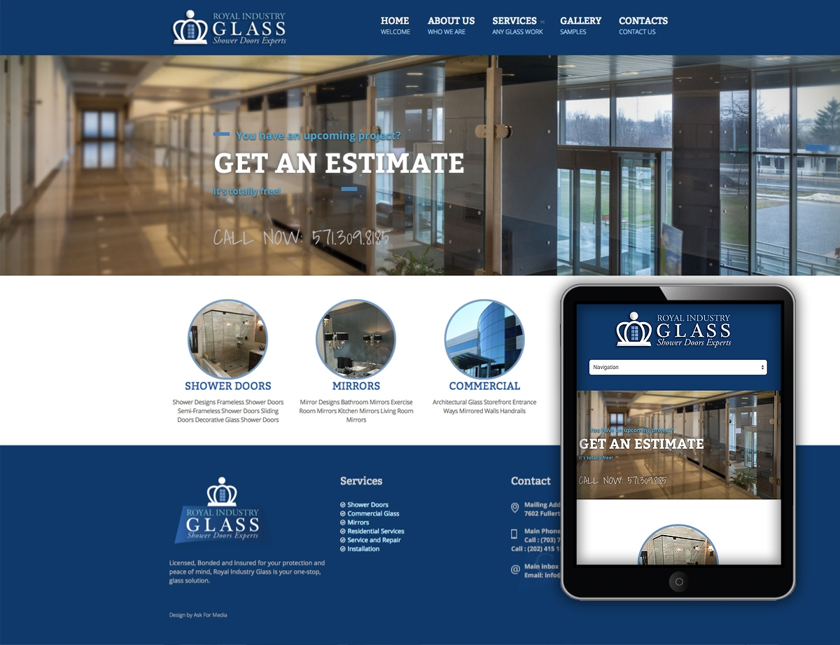 design work web design