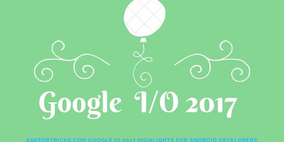 GoogleIO2017