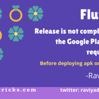 How to solve release is not compliant with the Google Play 64-bit requirement in flutter