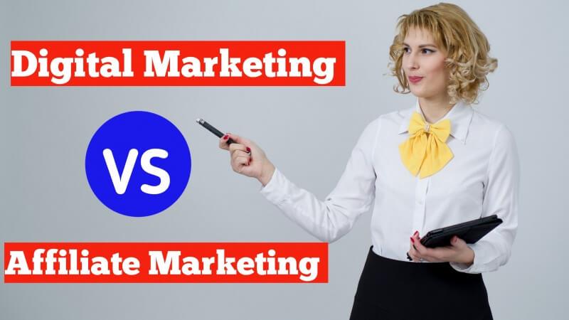 Digital Marketing vs Affiliate Marketing: कौन है बेहतर?