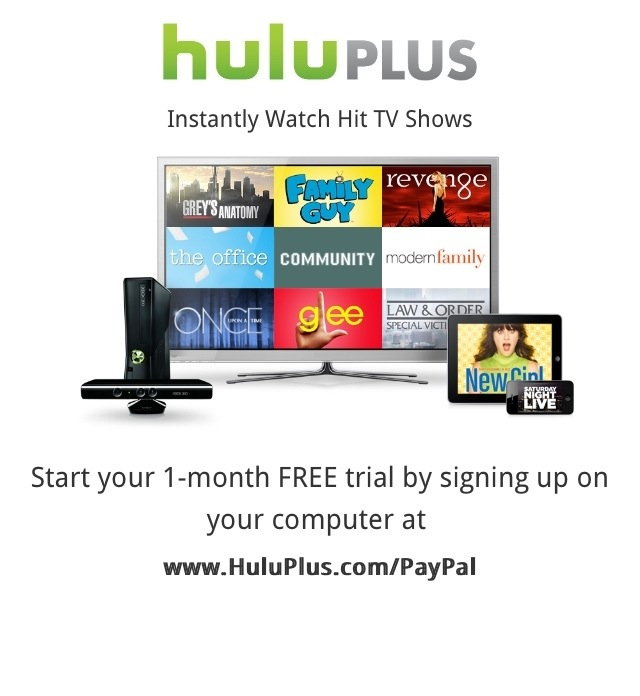 Hulu one month free trial code