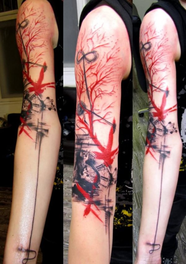 Abstract Animal Tattoos