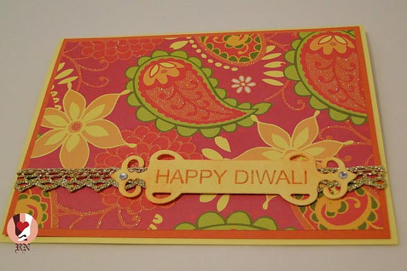10 Beautiful Handmade Diwali Cards