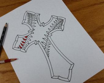 4 baseball tattoo design and ideas
