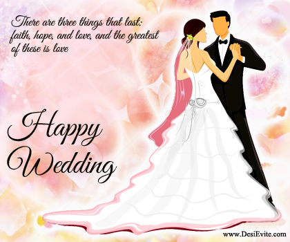 Cute Indian Married Couple Wallpaper Happy Wedding Wishes