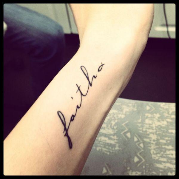 latest faith tattoo