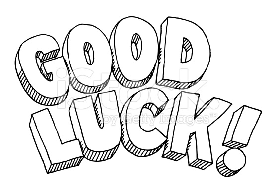Good Luck Coloring Page
