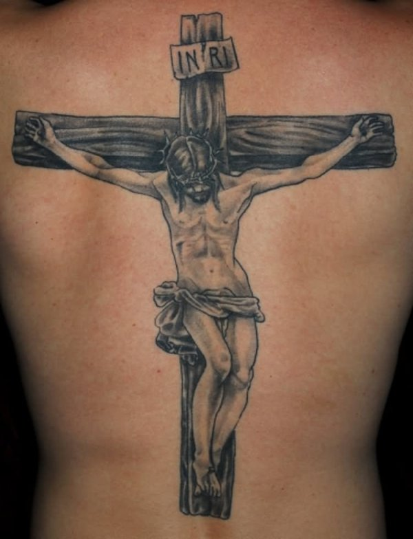 incredible religious tattoo